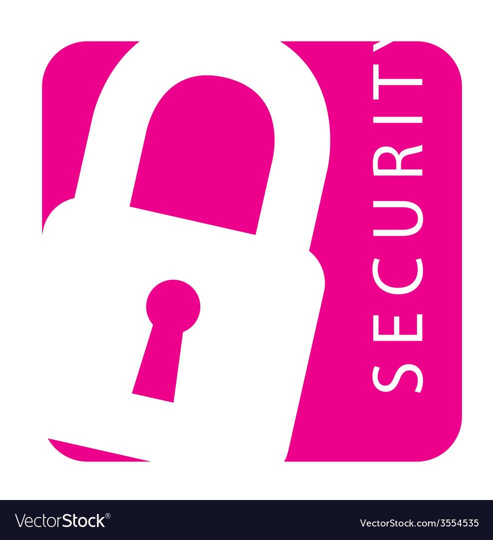 Security icon vector | Price: 1 Credit (USD $1)
