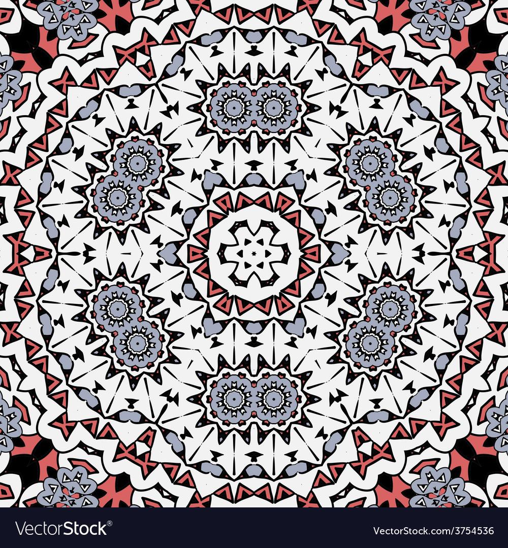Abstract circle ornate floral mandala  ornament vector | Price: 1 Credit (USD $1)