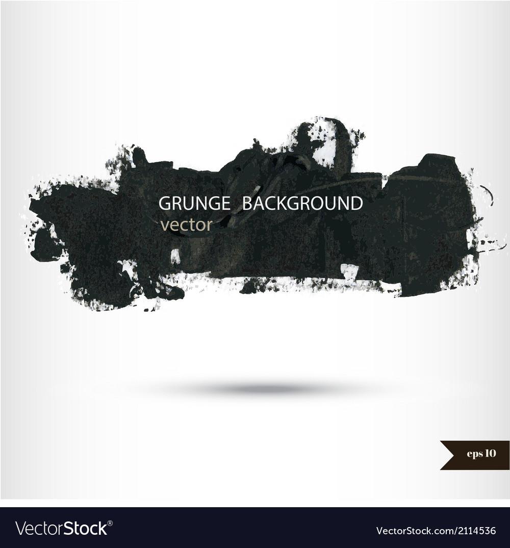 Splash banners watercolor background grunge vector | Price: 1 Credit (USD $1)