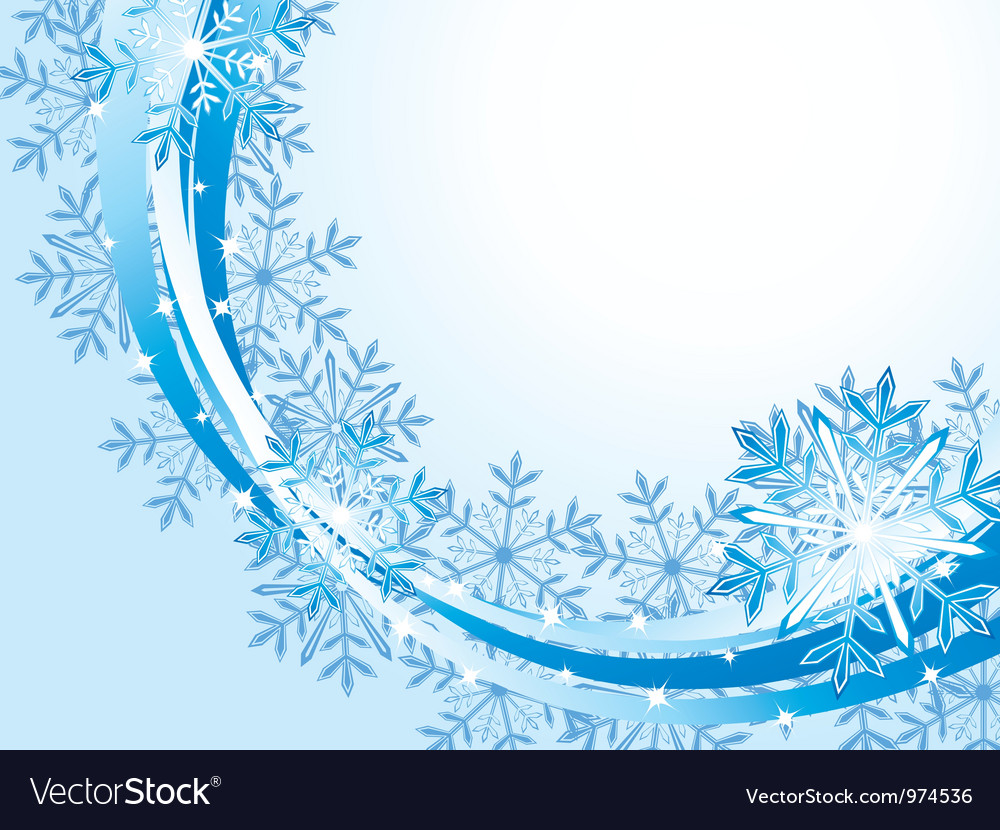 Winter wave pattern background vector | Price: 1 Credit (USD $1)