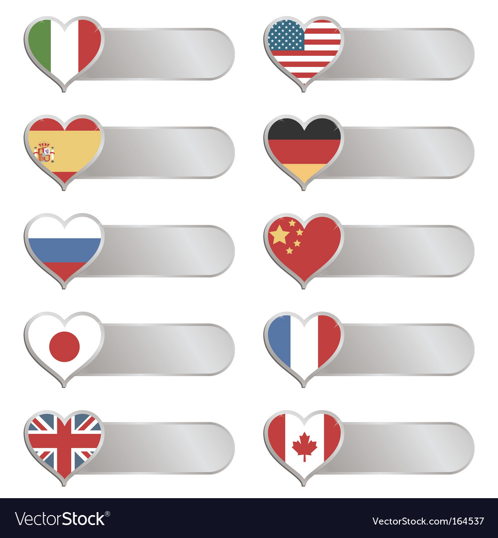 Chrome flag tabs vector | Price: 1 Credit (USD $1)