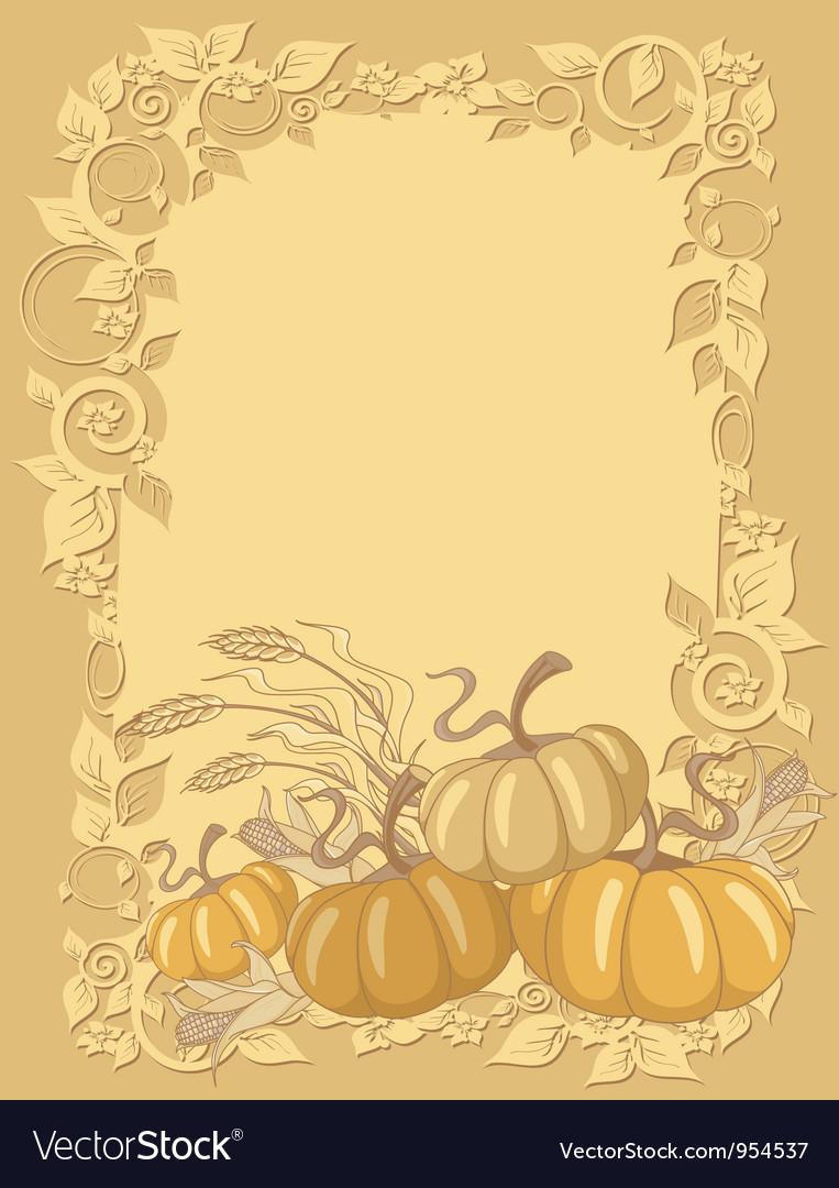 Pumpkin background vector   Price: 1 Credit (USD $1)