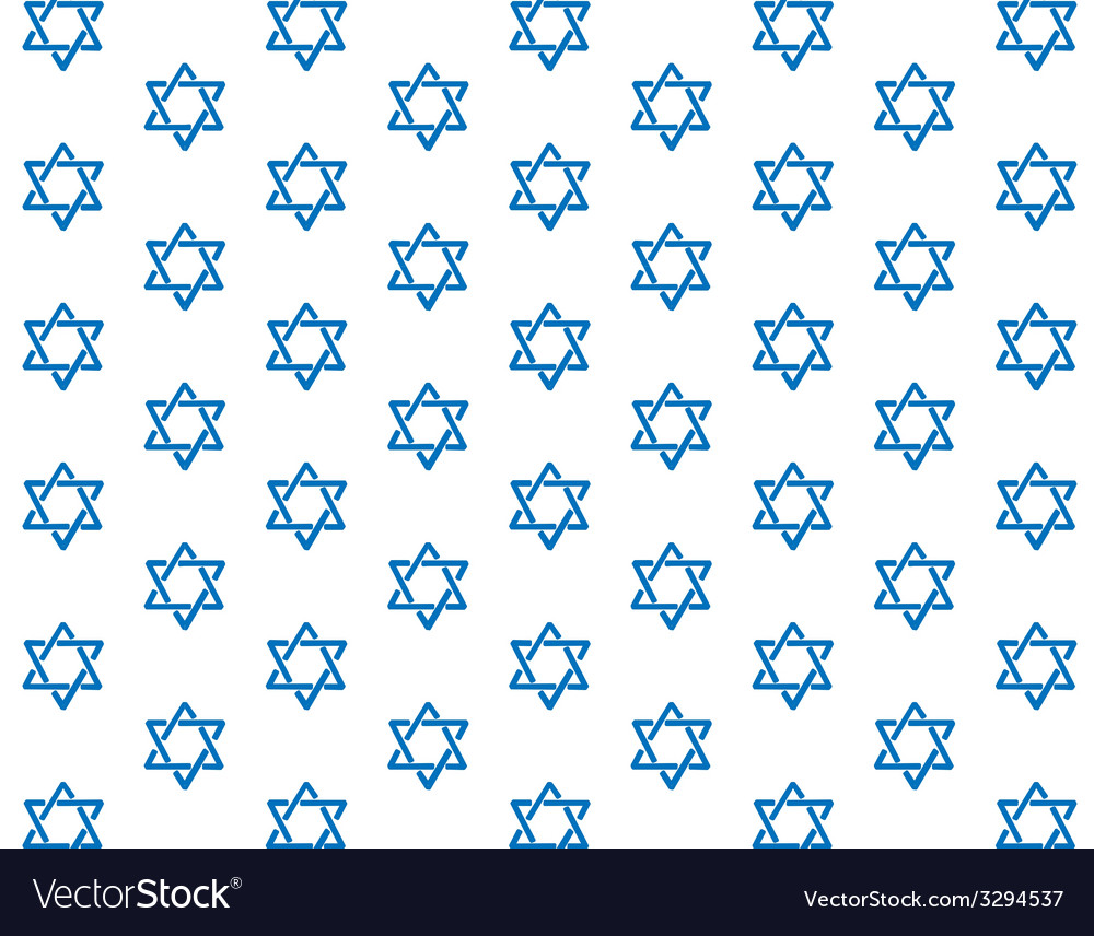 Star of david pattern vector | Price: 1 Credit (USD $1)