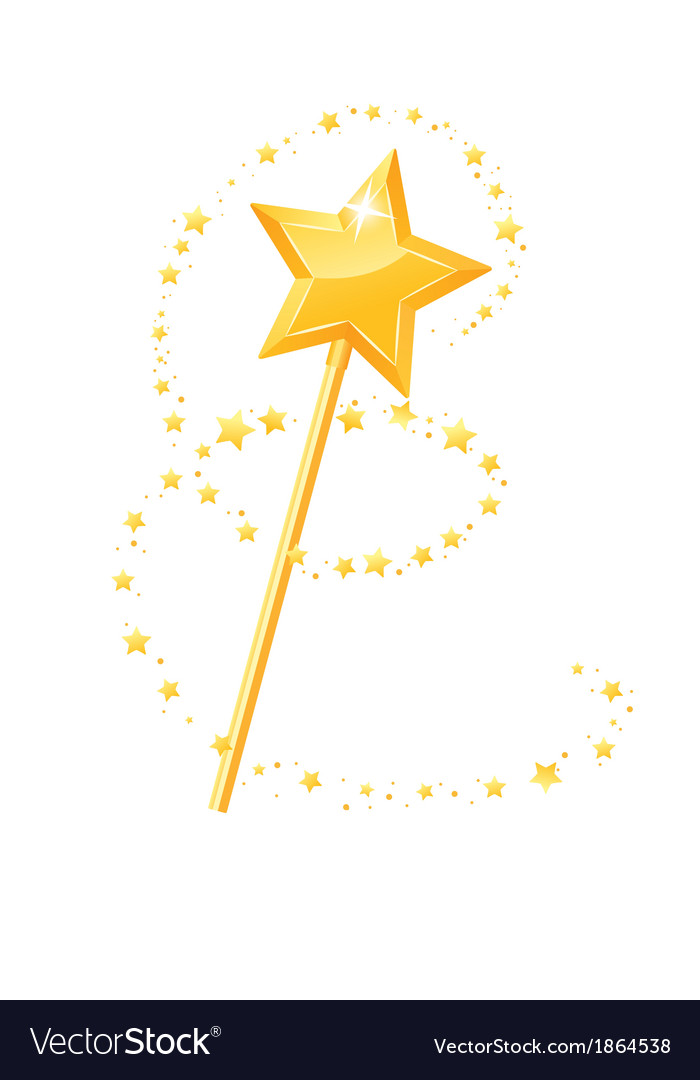 Magic wand vector | Price: 1 Credit (USD $1)