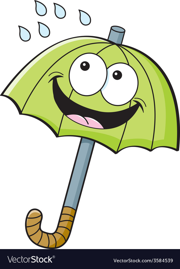 Cartoon umbrella vector | Price: 1 Credit (USD $1)