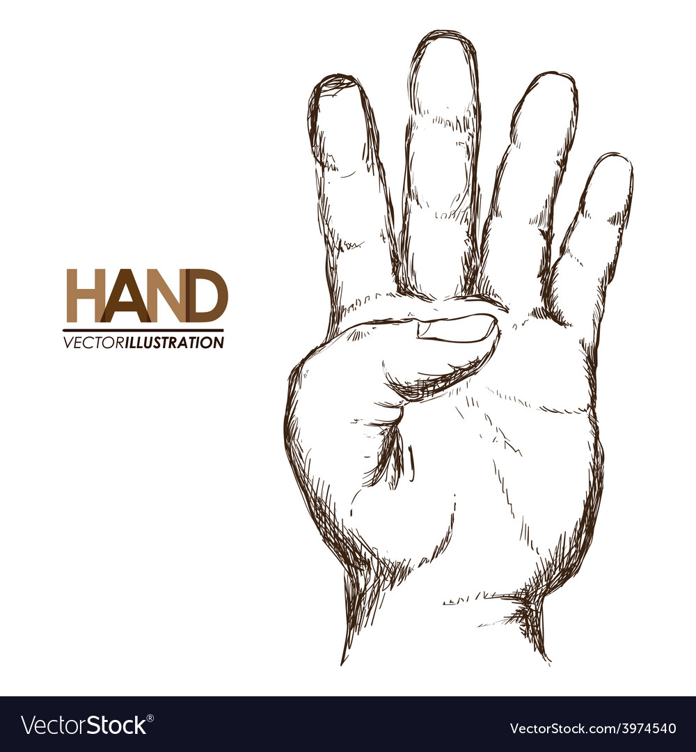 Hands signals vector | Price: 1 Credit (USD $1)