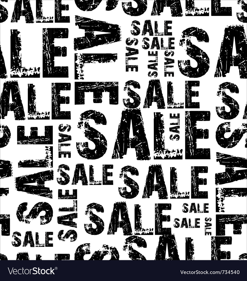Seamless sale background vector | Price: 1 Credit (USD $1)