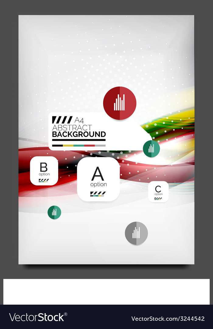 Flyer design template business web layout vector   Price: 1 Credit (USD $1)