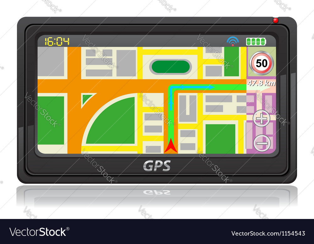 Gps navigator 03 vector | Price: 1 Credit (USD $1)