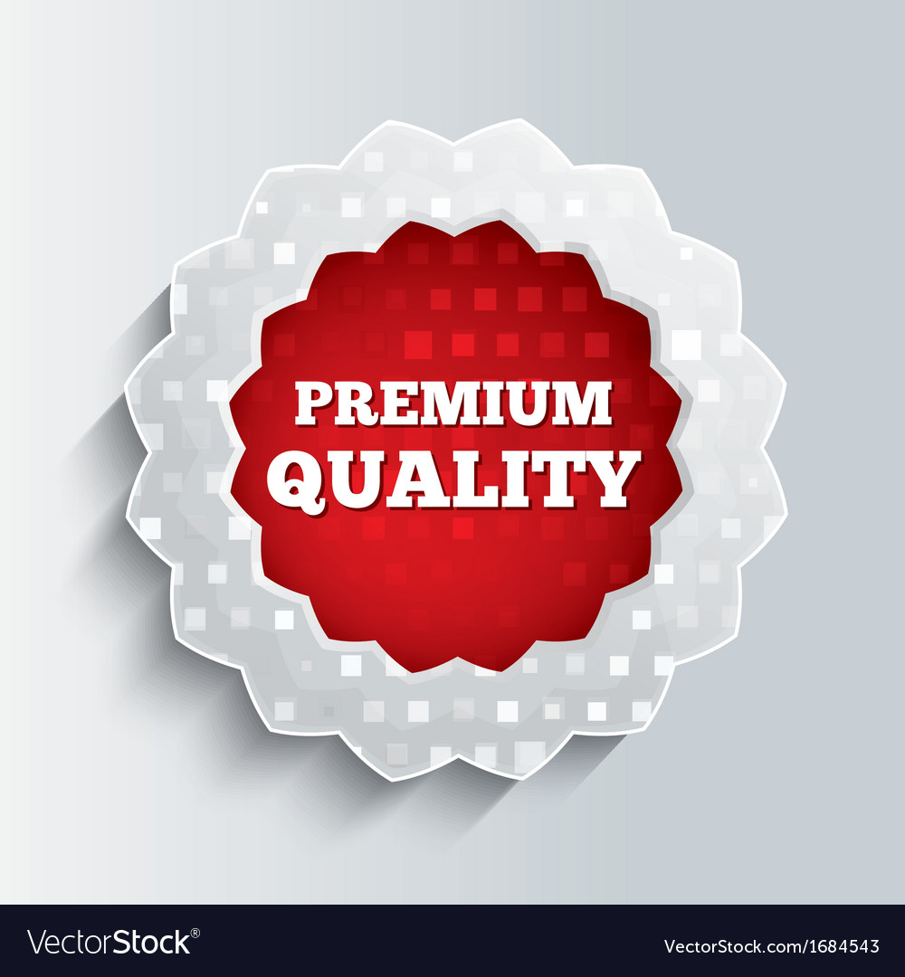 Premium quality glass star button vector | Price: 1 Credit (USD $1)