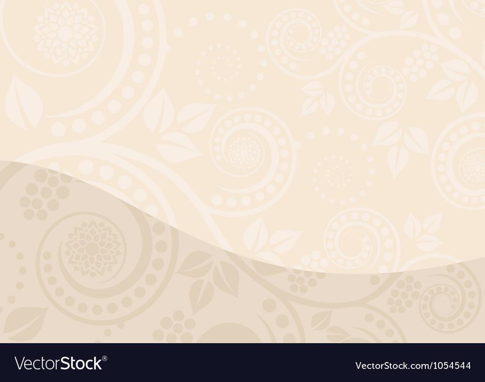 Beige background vector | Price: 1 Credit (USD $1)