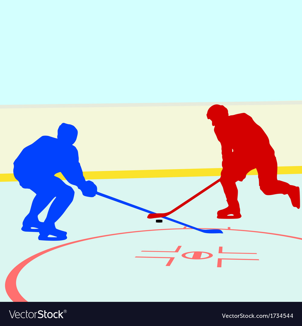 Ice hockey players vector | Price: 1 Credit (USD $1)