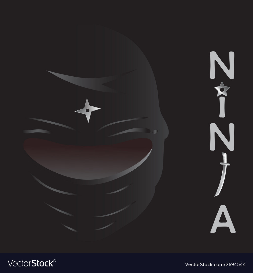 Ninja cartoon vector | Price: 1 Credit (USD $1)
