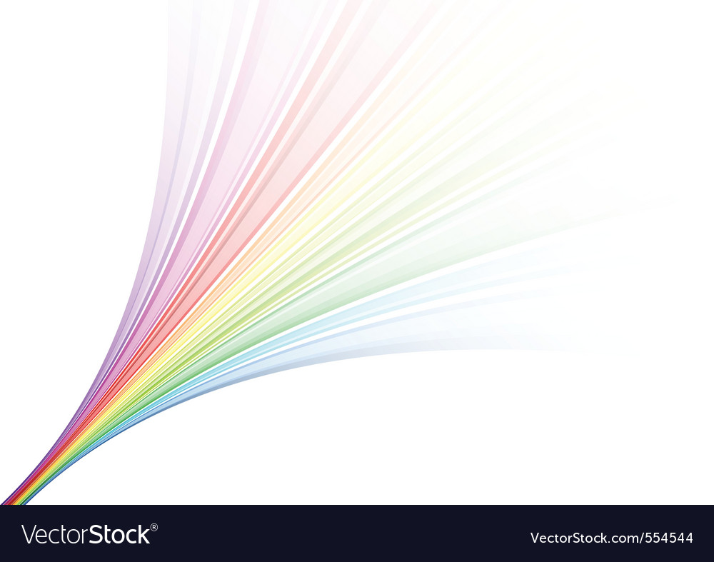 Rainbow fountain vector | Price: 1 Credit (USD $1)