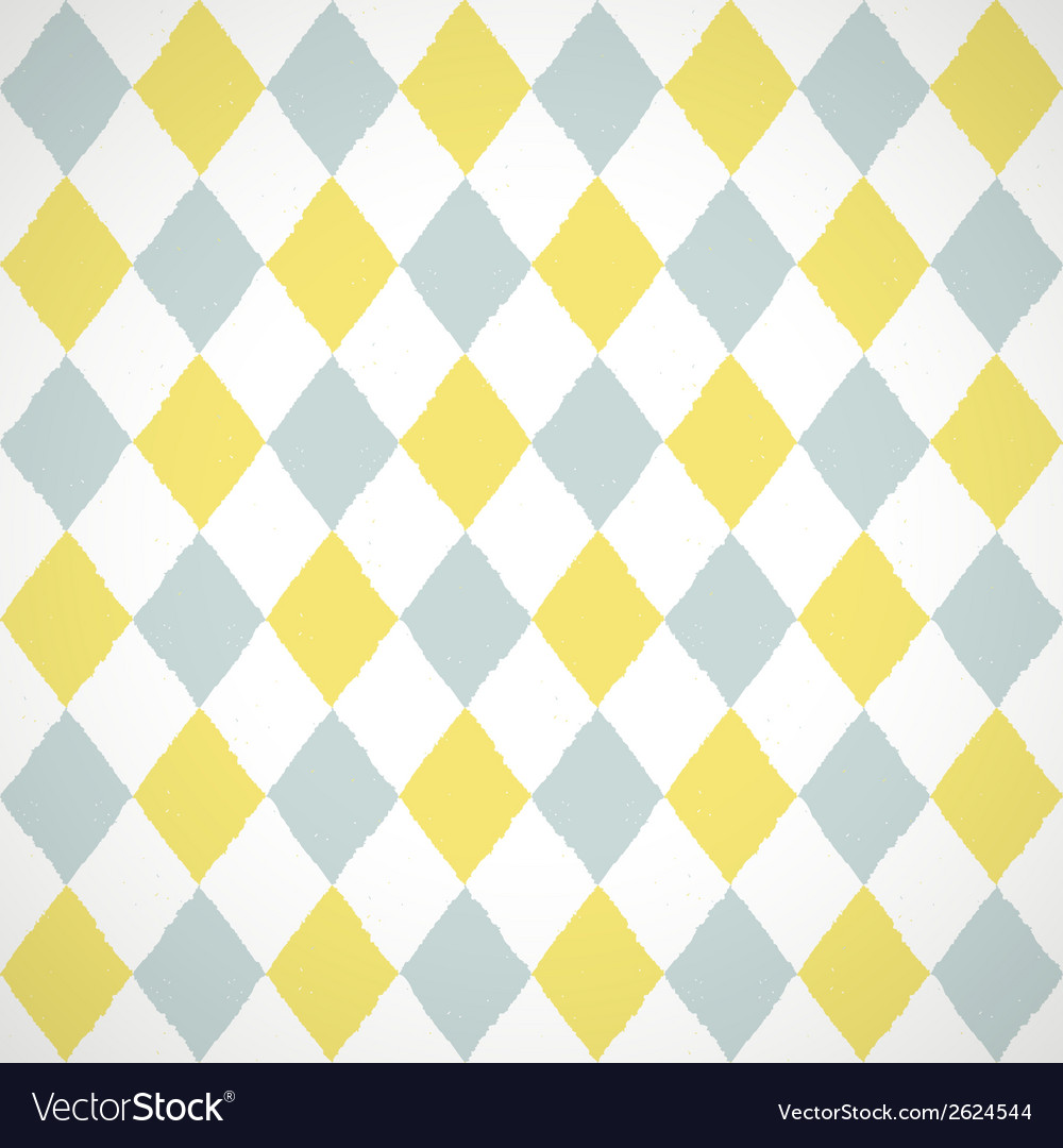 Seamless pattern with geometric rhombuses texture vector | Price: 1 Credit (USD $1)