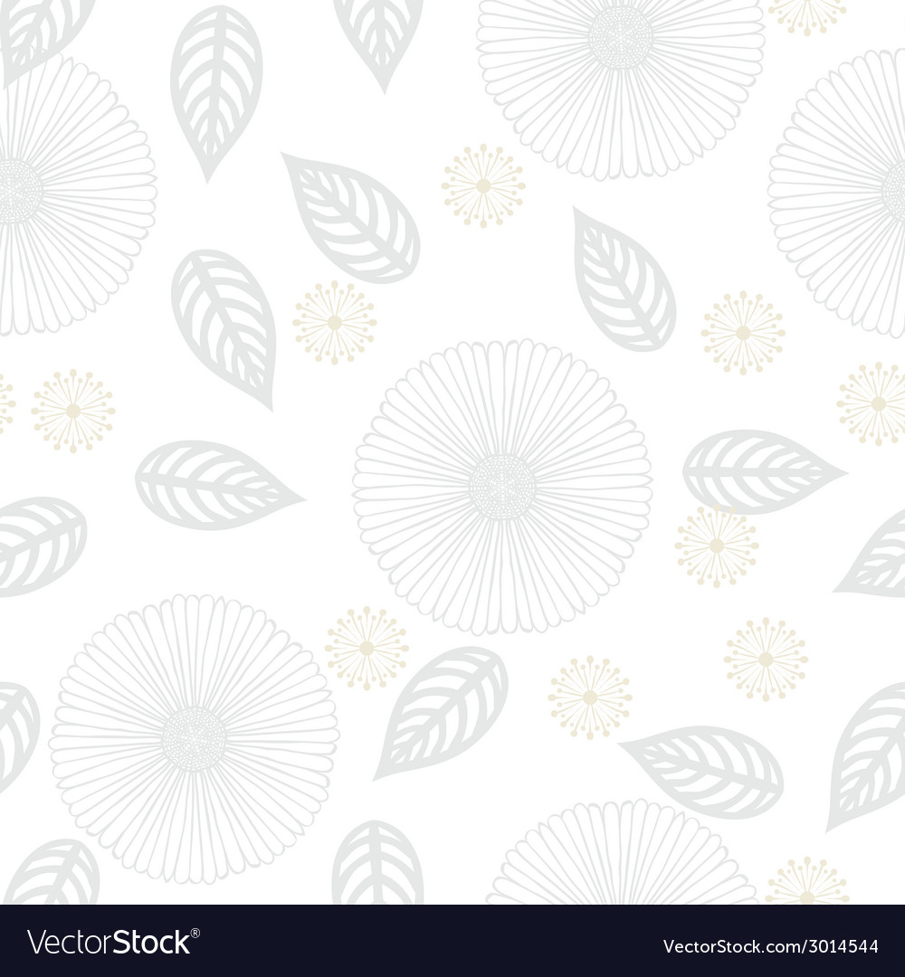 White floral texture in vintage style vector | Price: 1 Credit (USD $1)