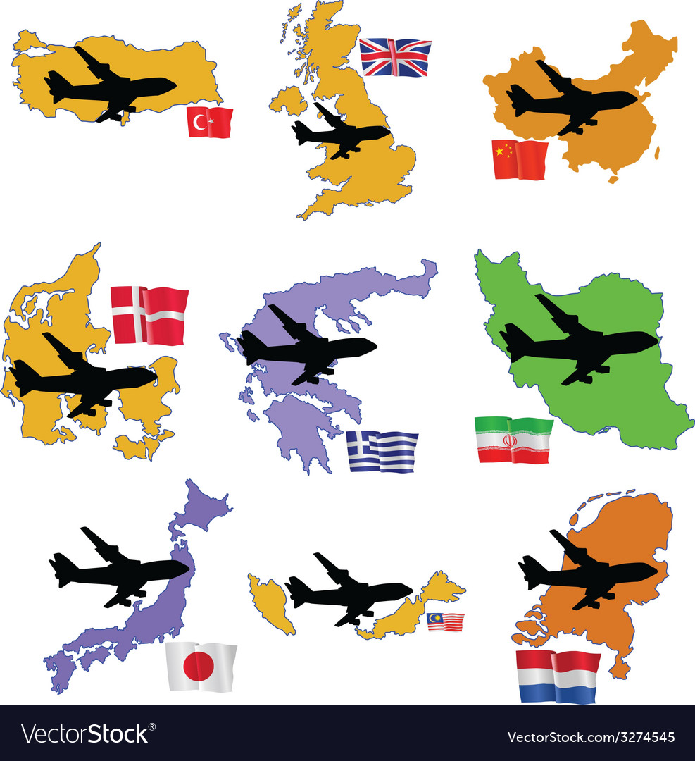 Fly me to the united kingdom china denmark greece vector   Price: 1 Credit (USD $1)
