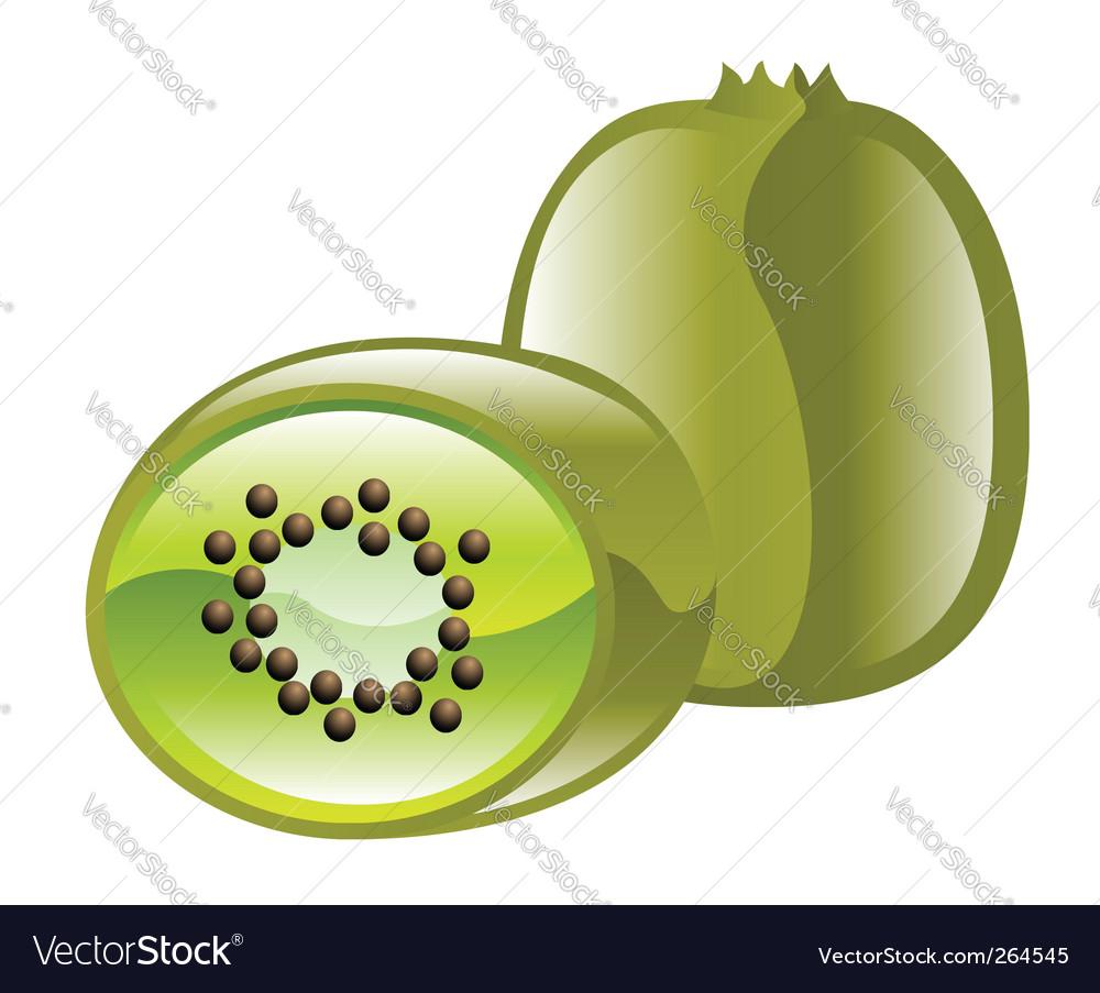 Kiwi fruit vector | Price: 1 Credit (USD $1)