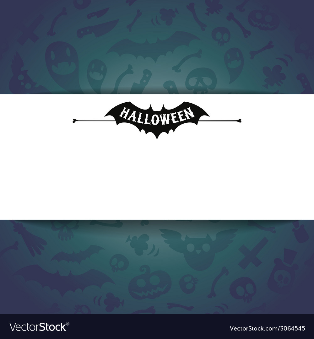 White paper sheet on dark halloween background vector | Price: 1 Credit (USD $1)