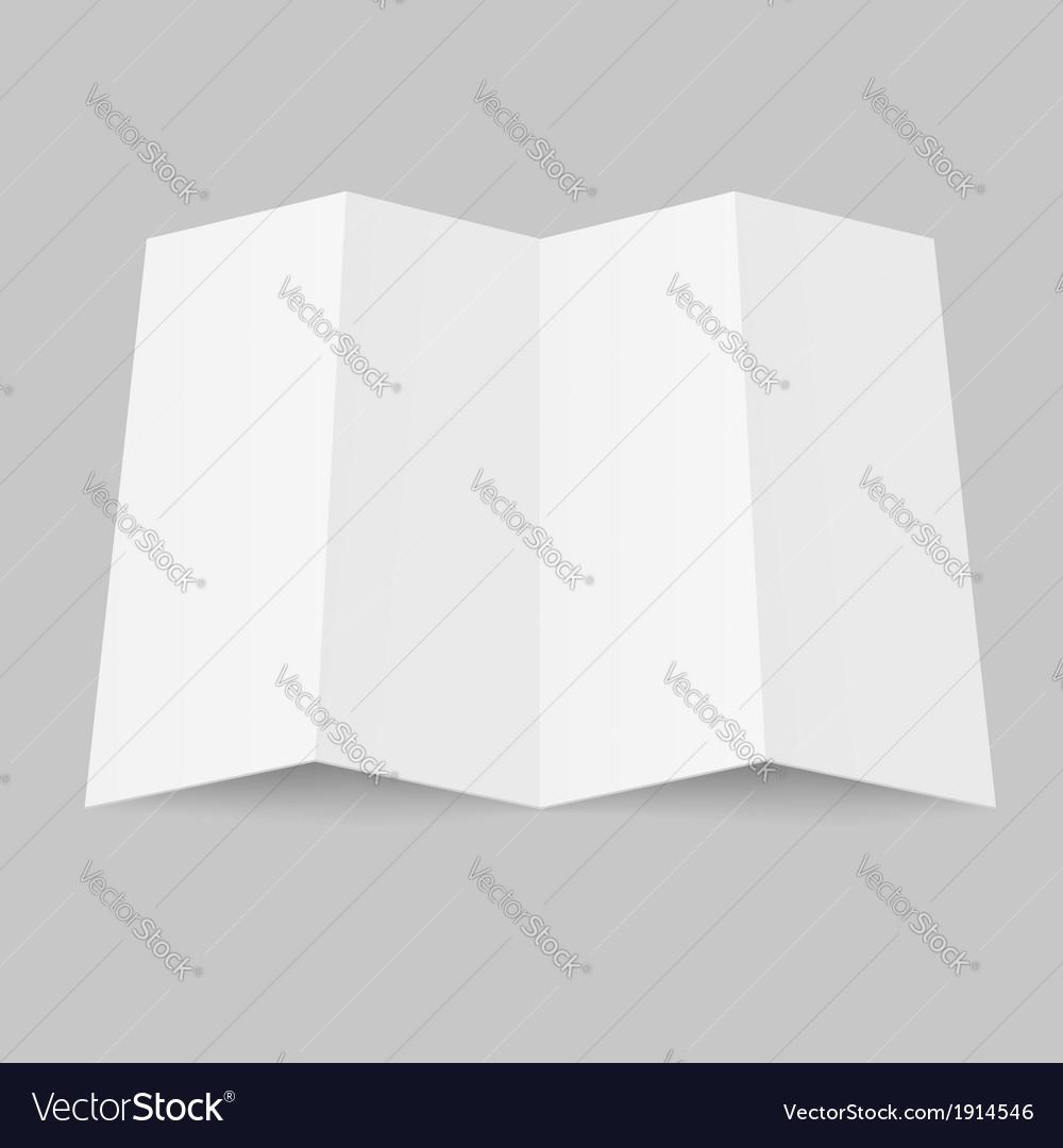 Blank booklet vector | Price: 1 Credit (USD $1)