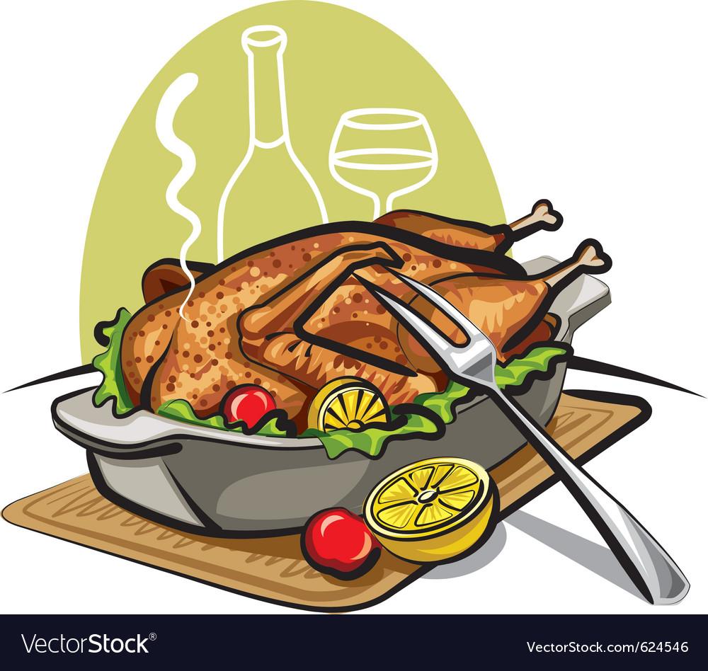 Roast goose vector | Price: 3 Credit (USD $3)