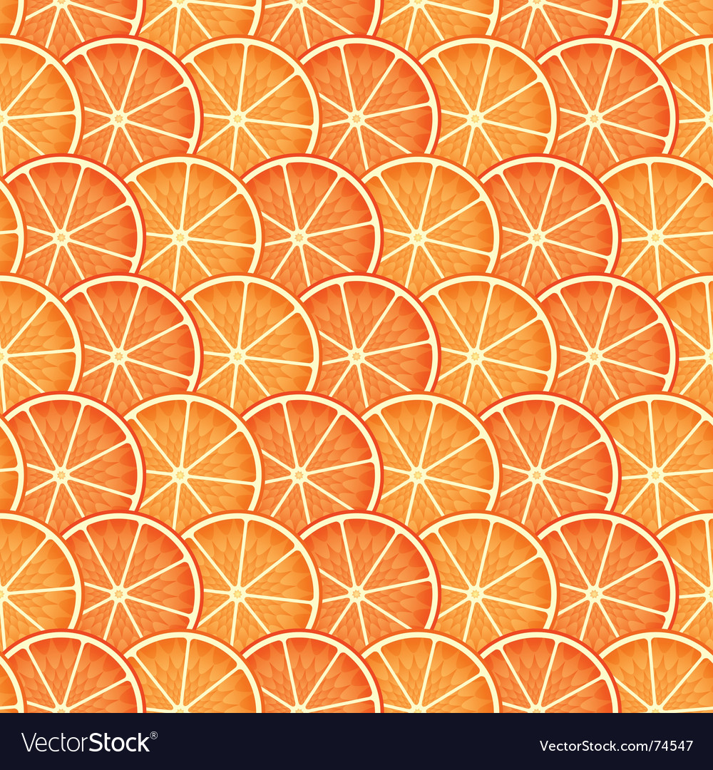 Abstract citrus background vector | Price: 1 Credit (USD $1)