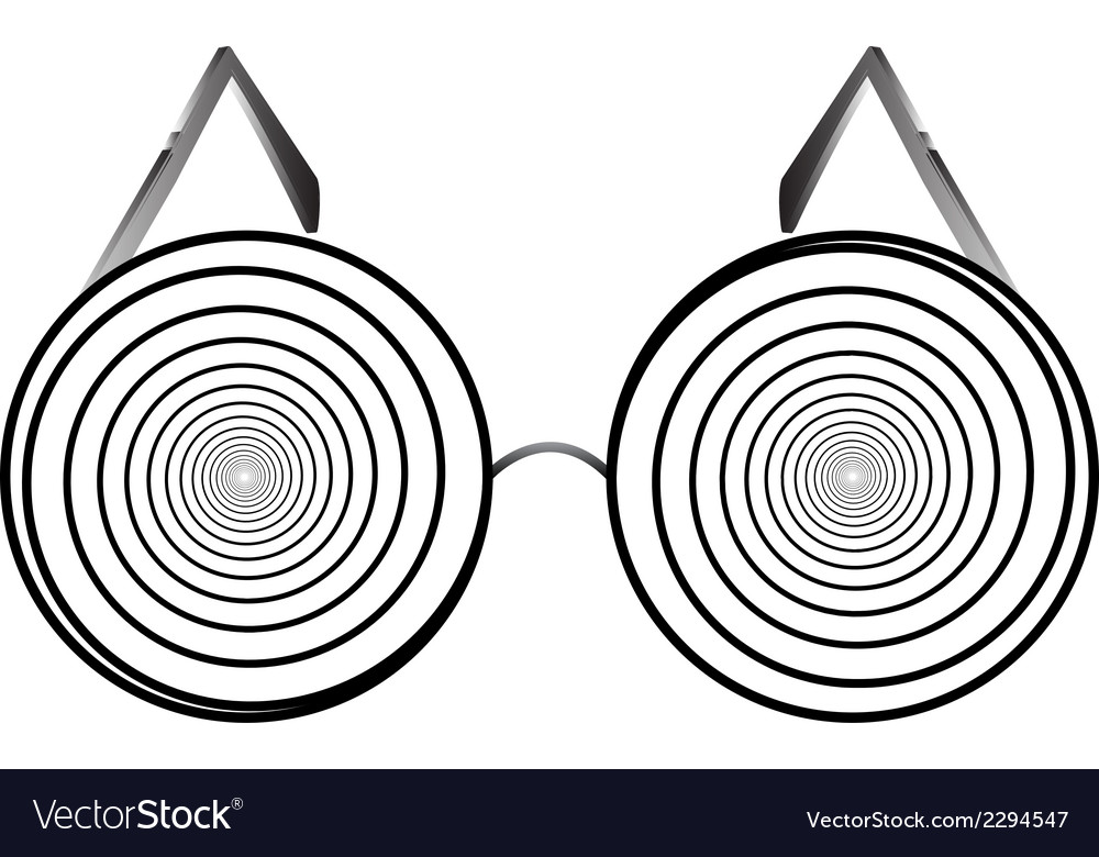 Glasses round 1 v vector | Price: 1 Credit (USD $1)