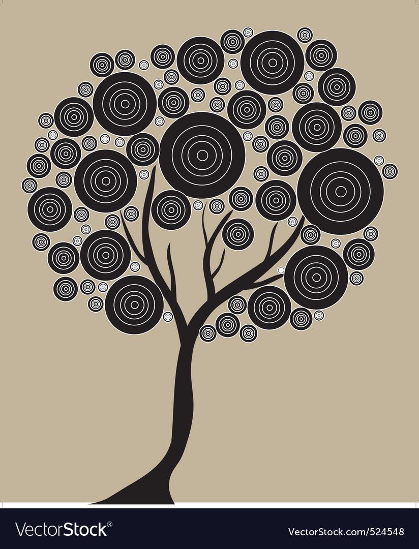 Artistic tree vector | Price: 1 Credit (USD $1)