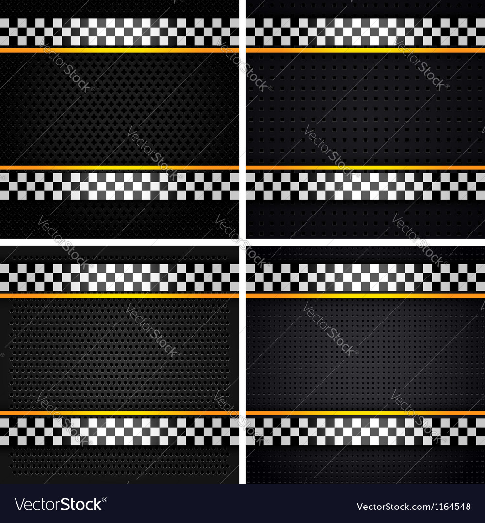 Metallic perforated sheets vector | Price: 1 Credit (USD $1)