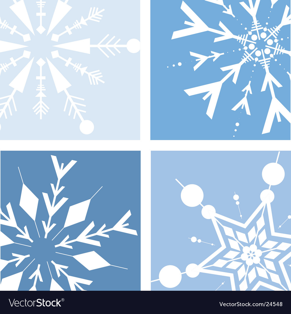 Retro snow vector | Price: 1 Credit (USD $1)