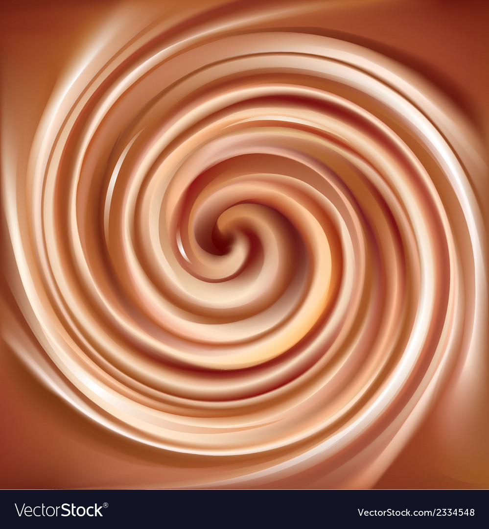 Swirling creamy caramel texture vector | Price: 1 Credit (USD $1)