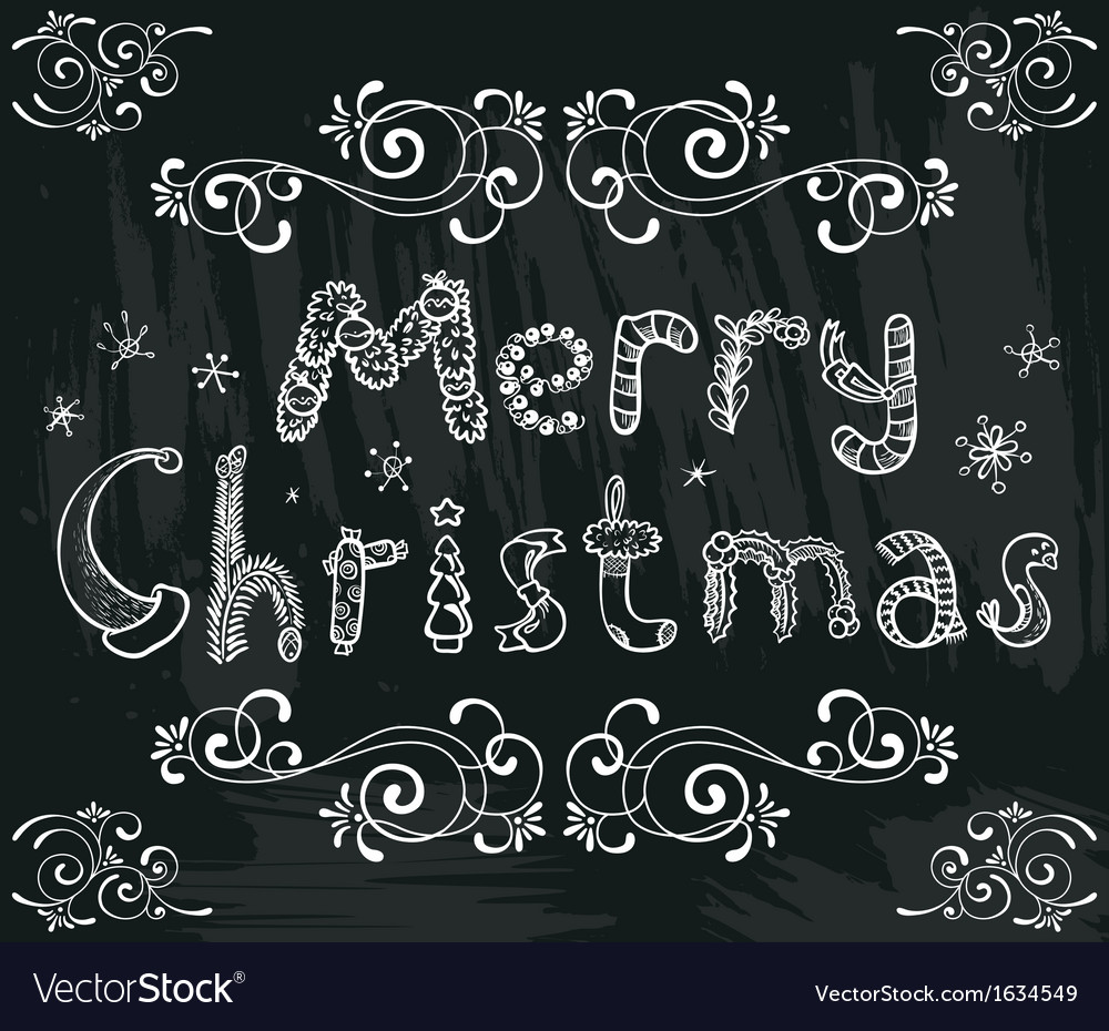 Christmas lettering vector   Price: 1 Credit (USD $1)
