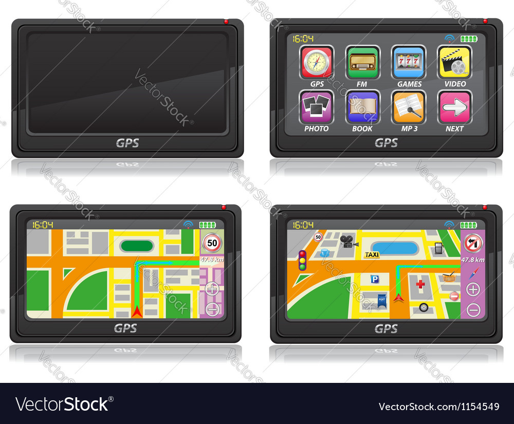 Gps navigator 05 vector | Price: 1 Credit (USD $1)