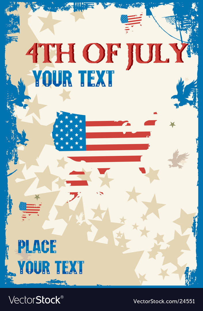 4th of july background vector | Price: 1 Credit (USD $1)