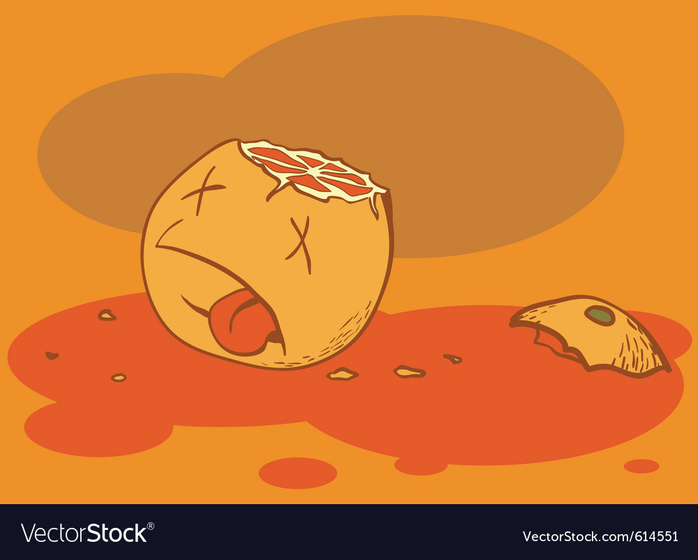 Dead orange vector | Price: 1 Credit (USD $1)