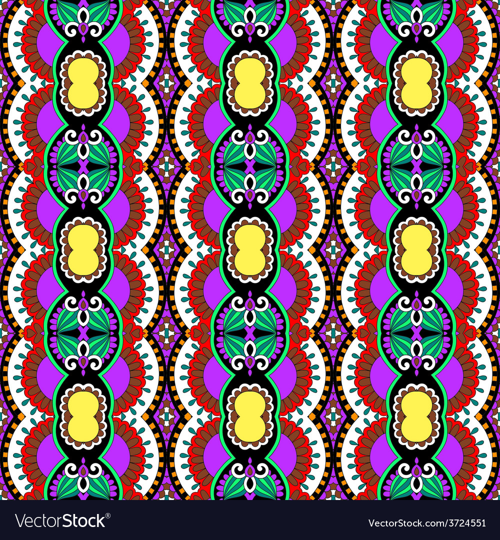 Geometry vintage pattern ethnic style ornamental vector | Price: 1 Credit (USD $1)