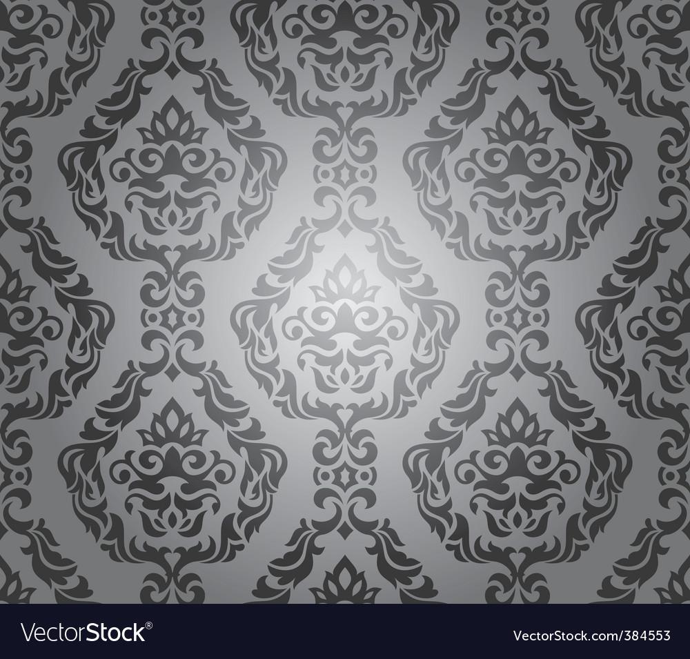 Decorative wallpaper design vector | Price: 1 Credit (USD $1)