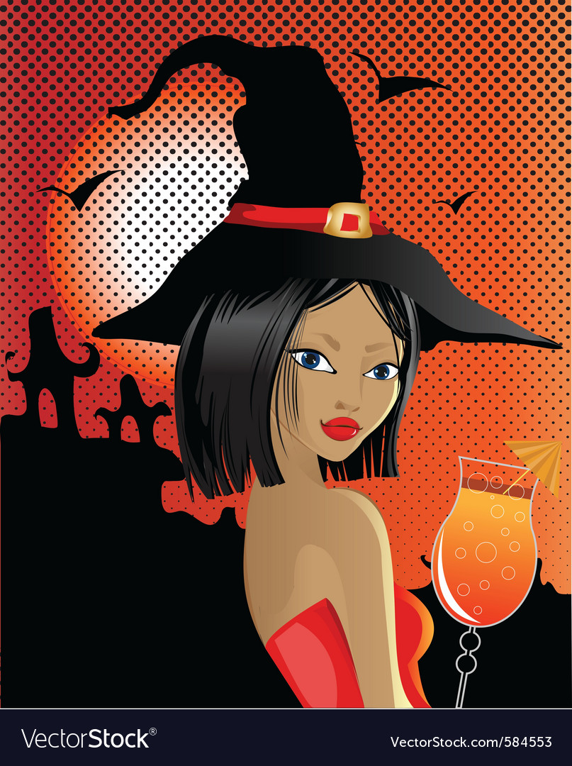Sexy witch vector   Price: 3 Credit (USD $3)