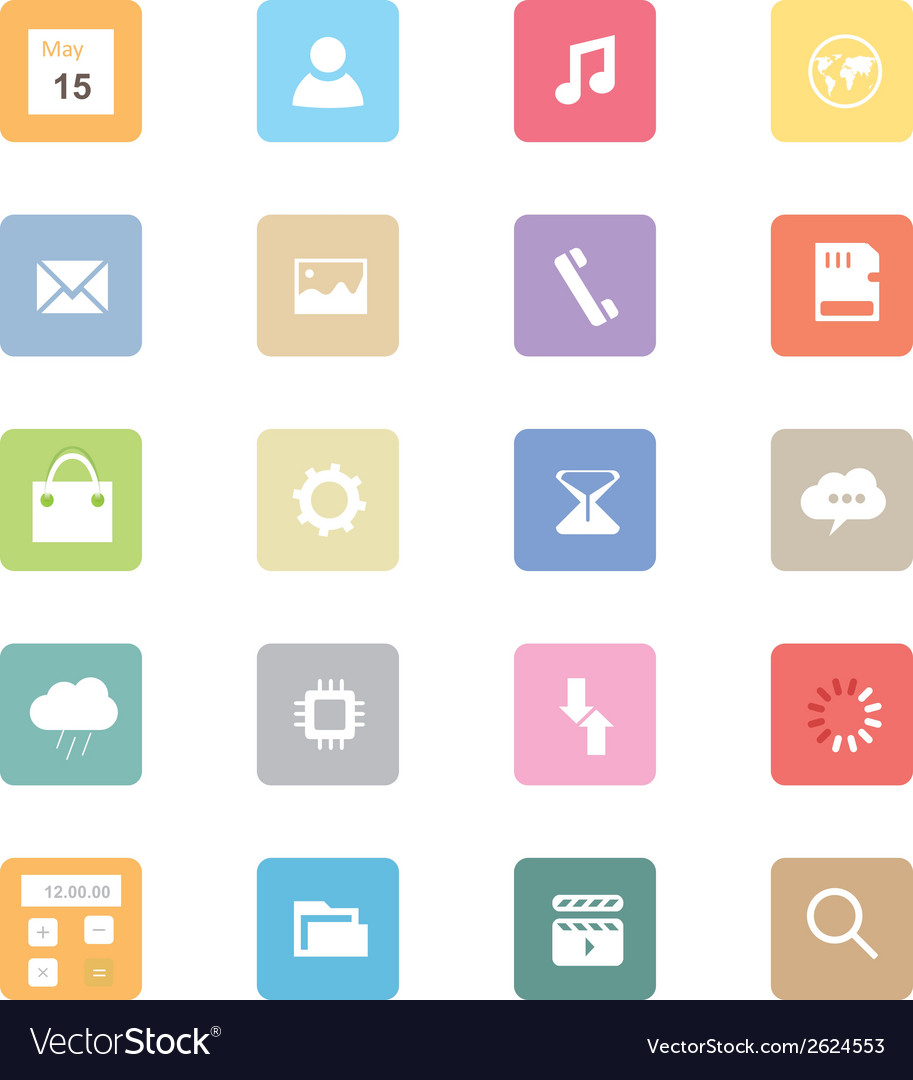 Web icons 40 vector | Price: 1 Credit (USD $1)