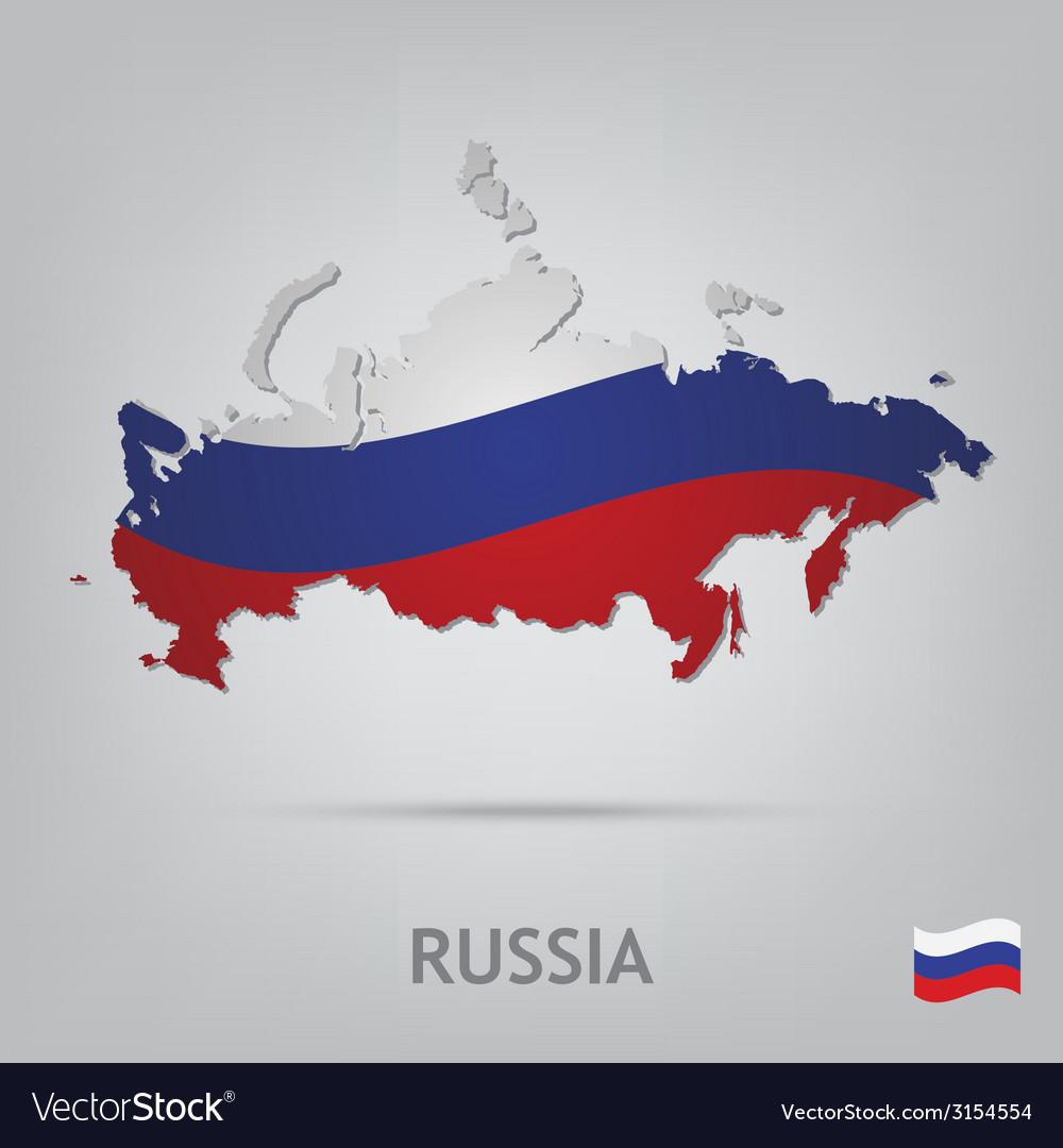Russia vector | Price: 1 Credit (USD $1)