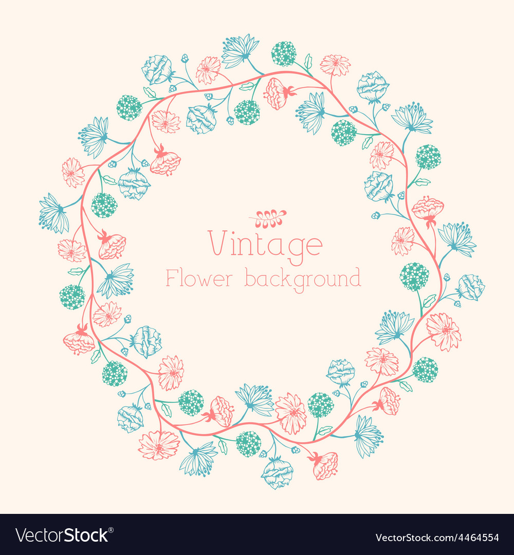Stylish beautiful flower set background concept vector | Price: 1 Credit (USD $1)