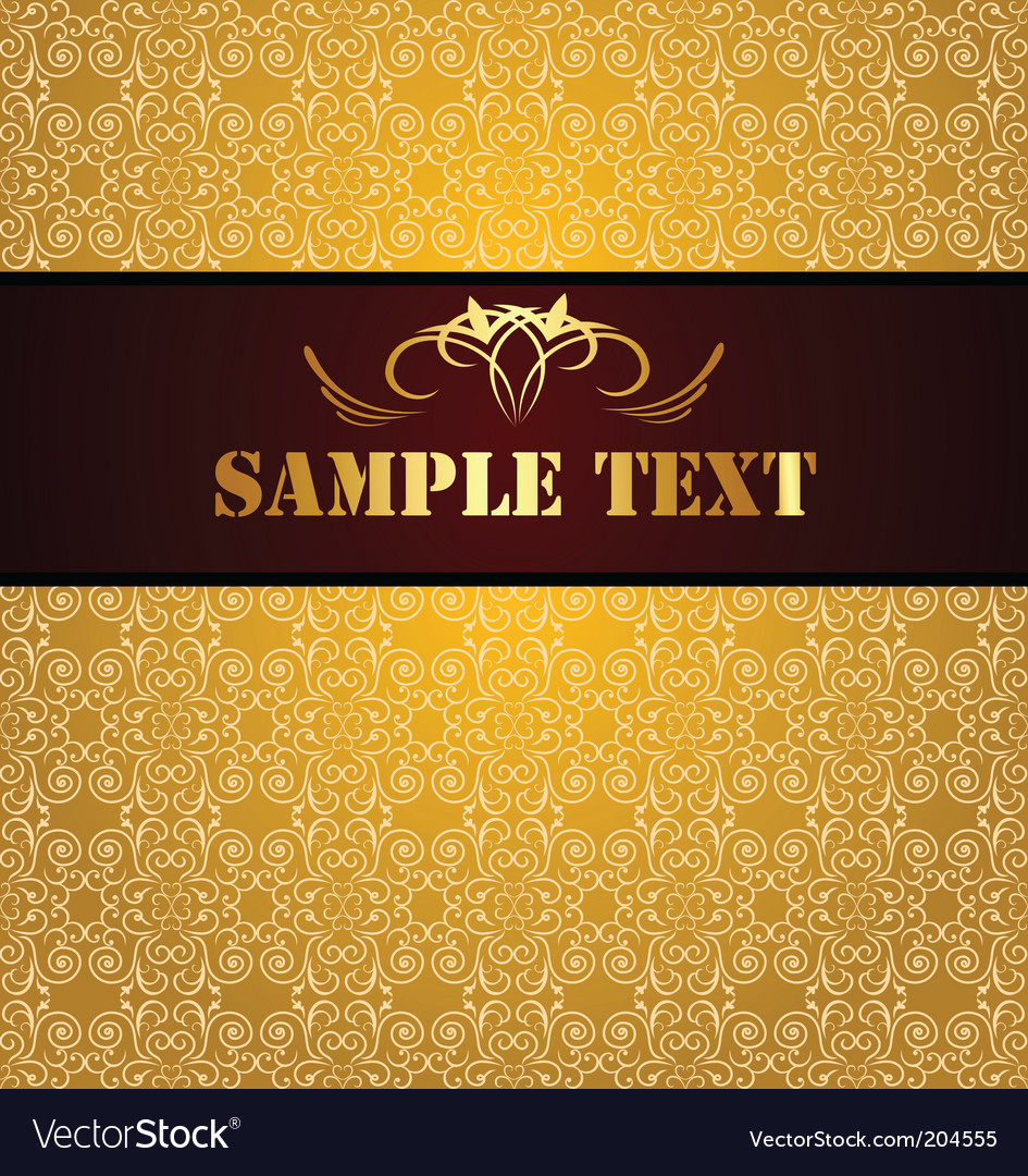Vintage background and banner vector | Price: 1 Credit (USD $1)