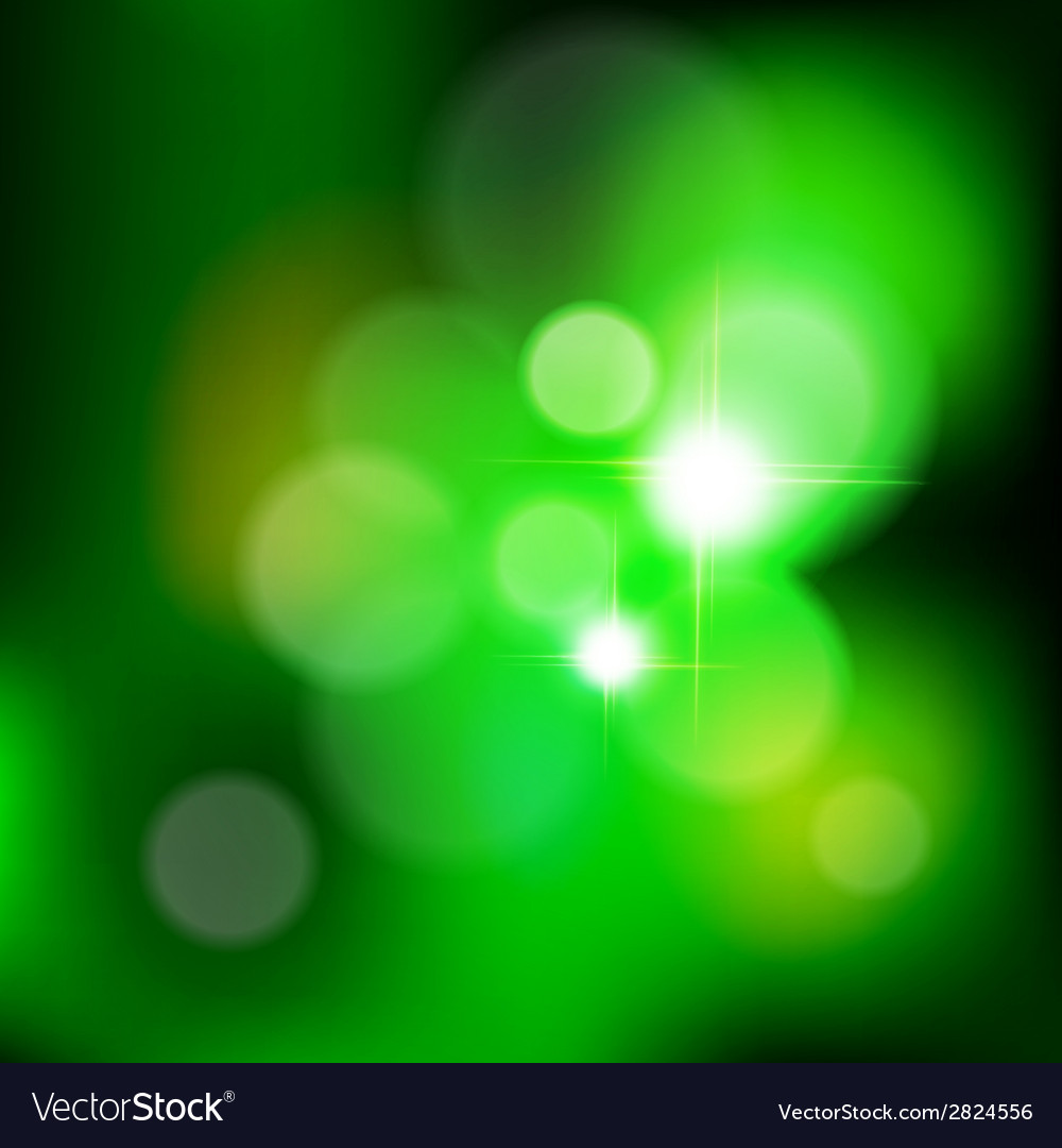 Green bokeh from tree vector | Price: 1 Credit (USD $1)