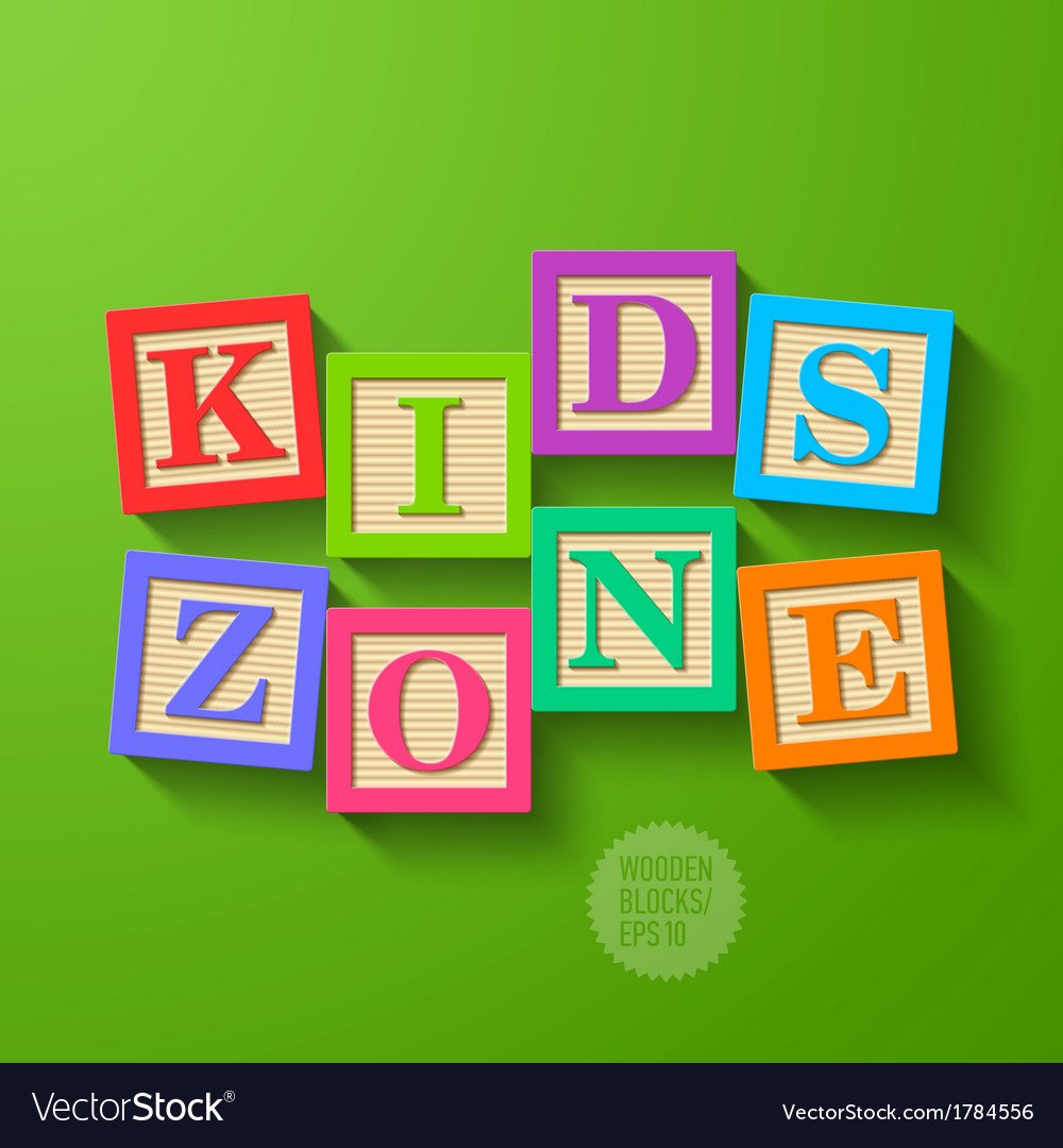 Kids zone vector | Price: 1 Credit (USD $1)