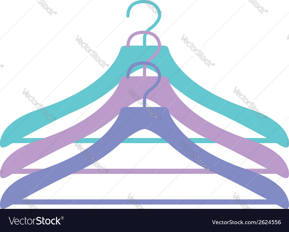 Three hangers icon in vector | Price: 1 Credit (USD $1)