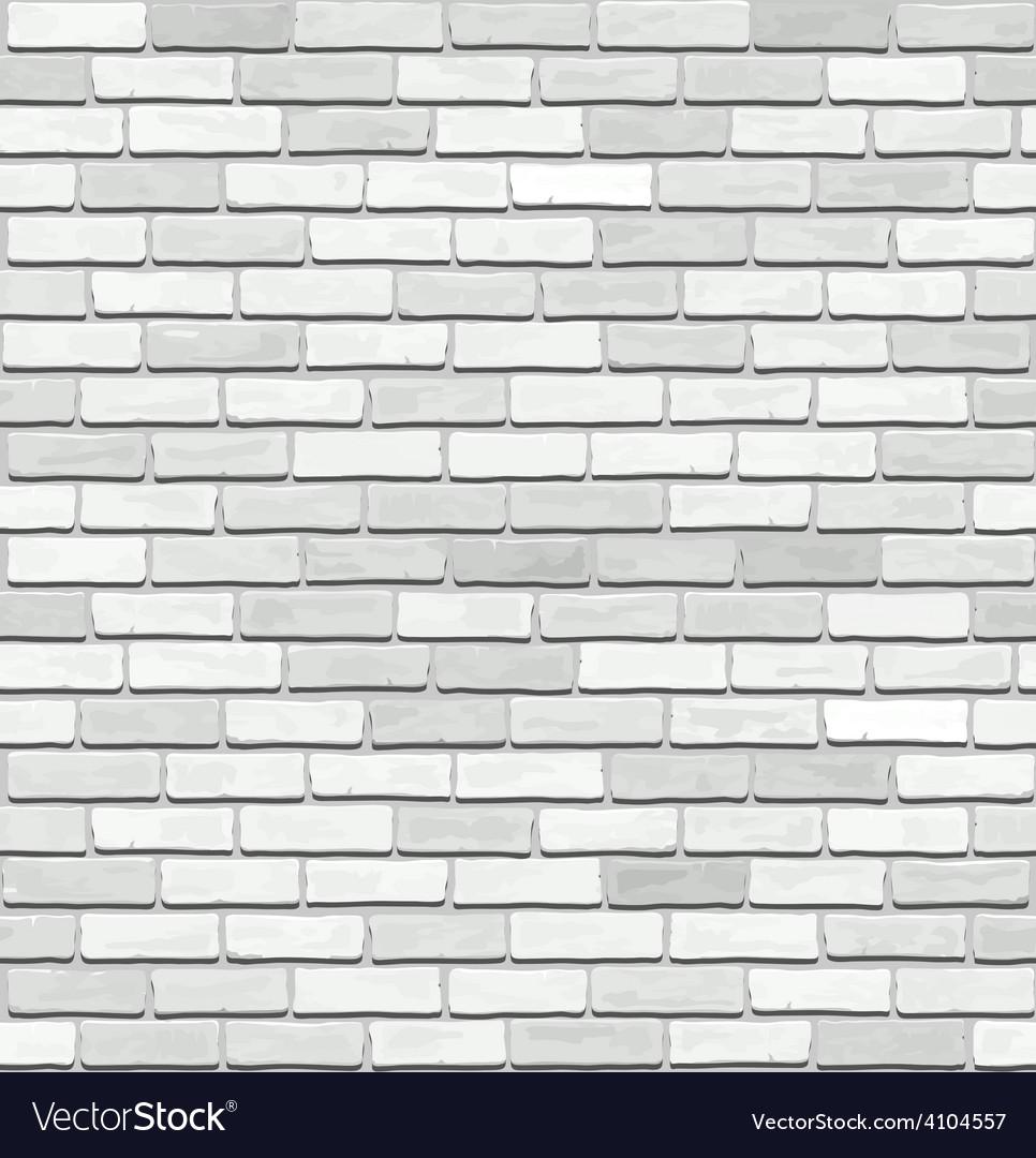 White brick seamless texture vector | Price: 1 Credit (USD $1)