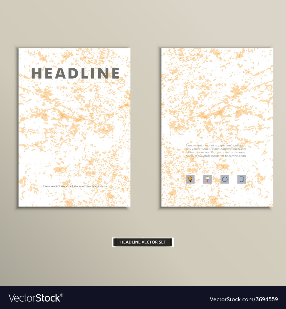 Book cover with an old ragged texture vector | Price: 1 Credit (USD $1)