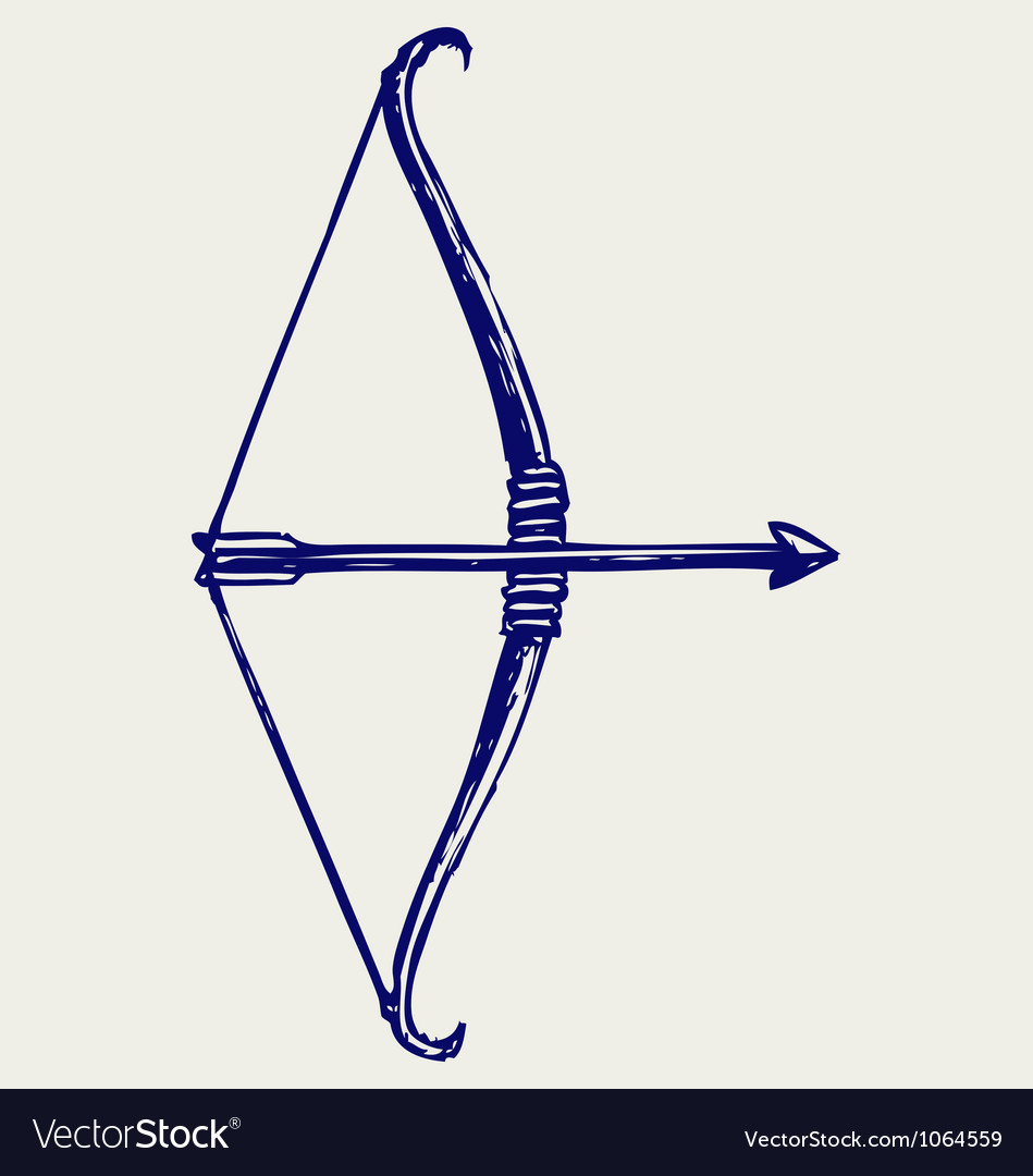 Bow and arrow vector | Price: 1 Credit (USD $1)