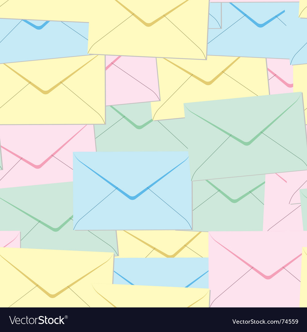 Envelopes background vector | Price: 1 Credit (USD $1)