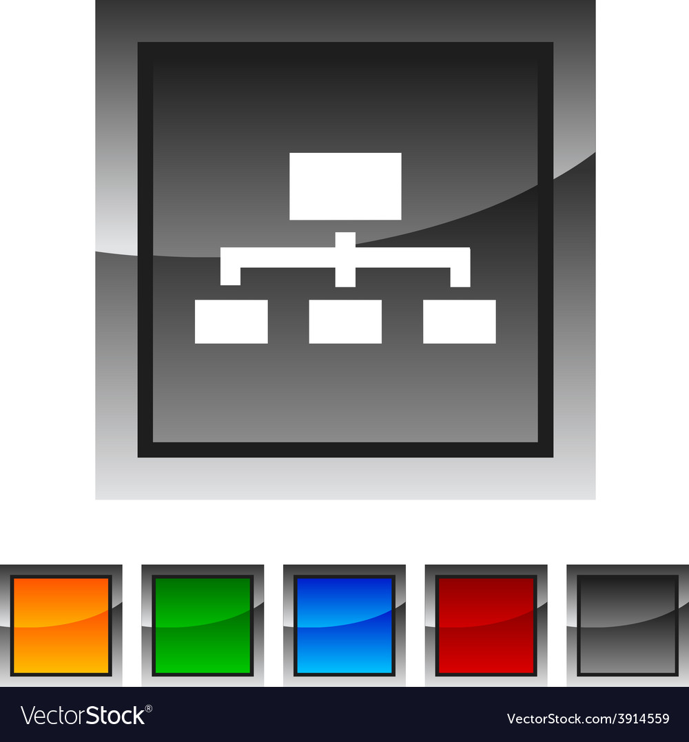 Network icons vector | Price: 1 Credit (USD $1)